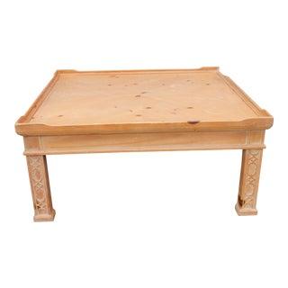Century Furniture Mid-Century Pine Coffee Table