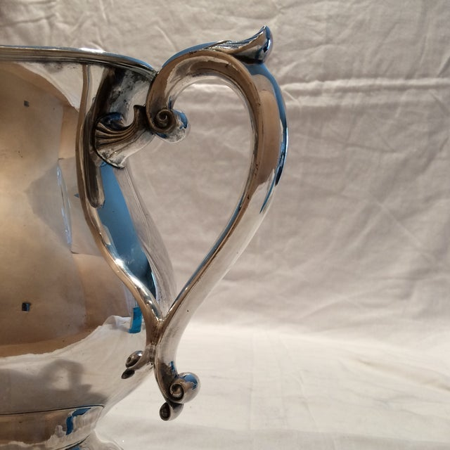 Antique Silver Pitcher by Sheffield Early 1900's - Image 9 of 10
