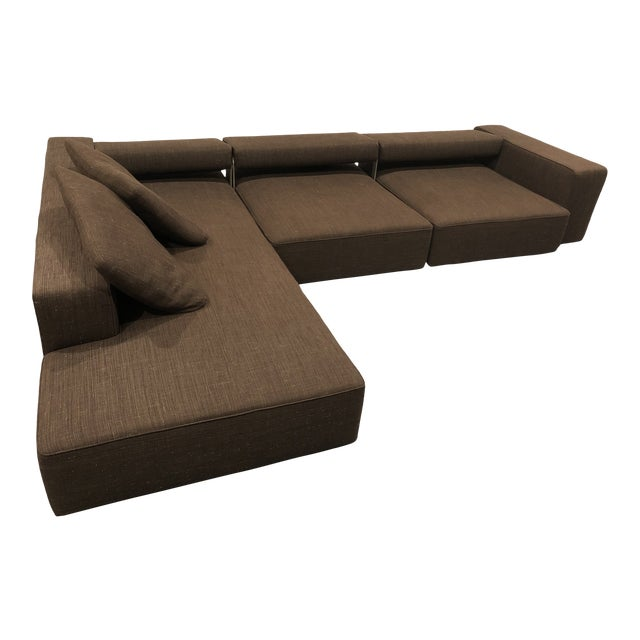 B&b Italia Andy Sectional Sofa by Paolo Piva For Sale