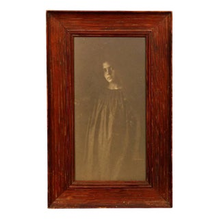 """""""Pensive Woman"""" Pictorialist Photography For Sale"""