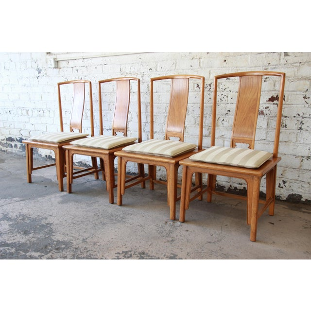 Baker Furniture Chinoiserie Ming Dining Chairs - Set of 6 For Sale In South Bend - Image 6 of 15