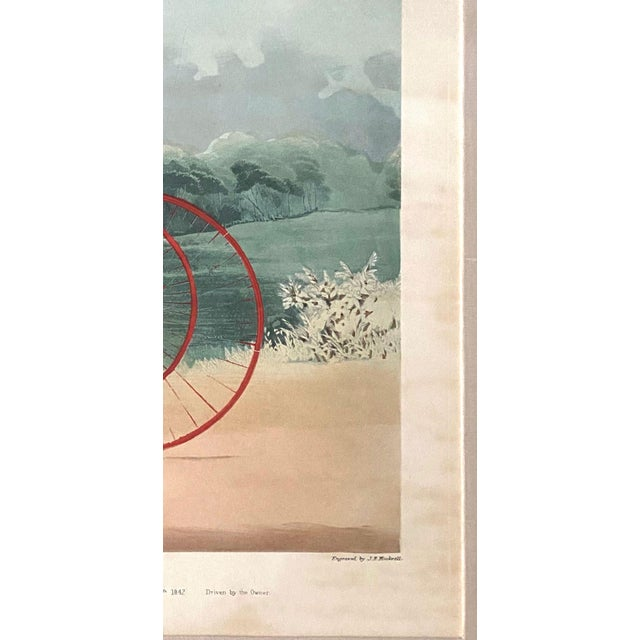 """Lord William"" Trotting Horse 1845 Aquatint For Sale - Image 9 of 13"