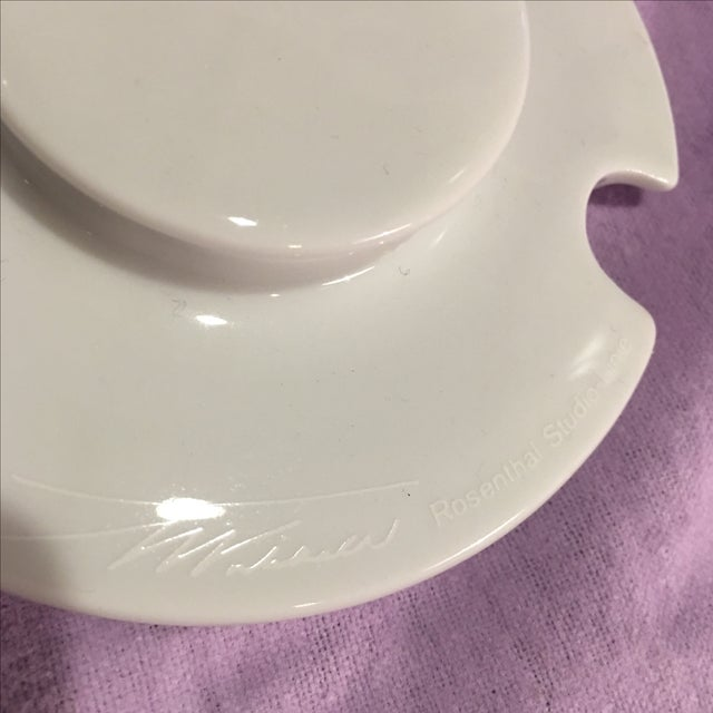Rosenthal Century Handled Bowl or Dish For Sale In Miami - Image 6 of 7