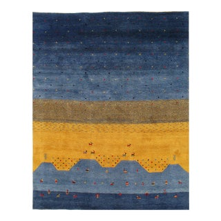 """Pasargad Gabbeh Rug - 8'4"""" X 10' For Sale"""