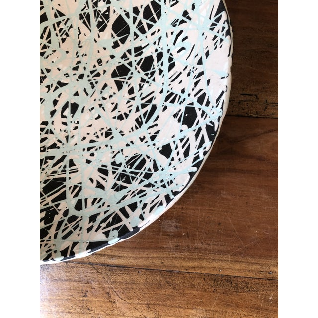 Scandinavian Pollack Style Ceramic Bowl For Sale In New York - Image 6 of 11
