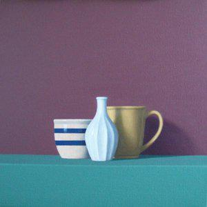 "David Harrison ""Three Objects"" Oil Painting For Sale"