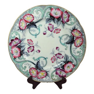 Antique C.1840 Imperial Stone Charger Plate English Ironstone Florida For Sale