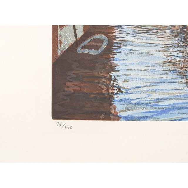 F. St. Clair Miller Venice Italy Etching - Image 2 of 5