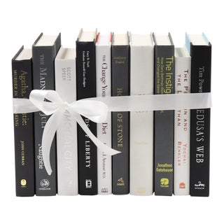 Deco Monochrome Book Bundle For Sale