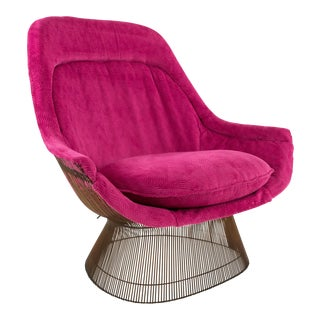 Warren Platner Mid-Century Modern Lounge Chair
