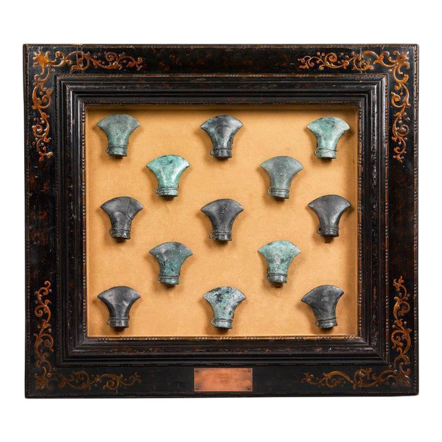 Ancient Celtic Bronze Axe Heads For Sale