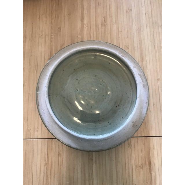 Ceramic Studio Pottery Lidded Casserole Dish For Sale - Image 7 of 10