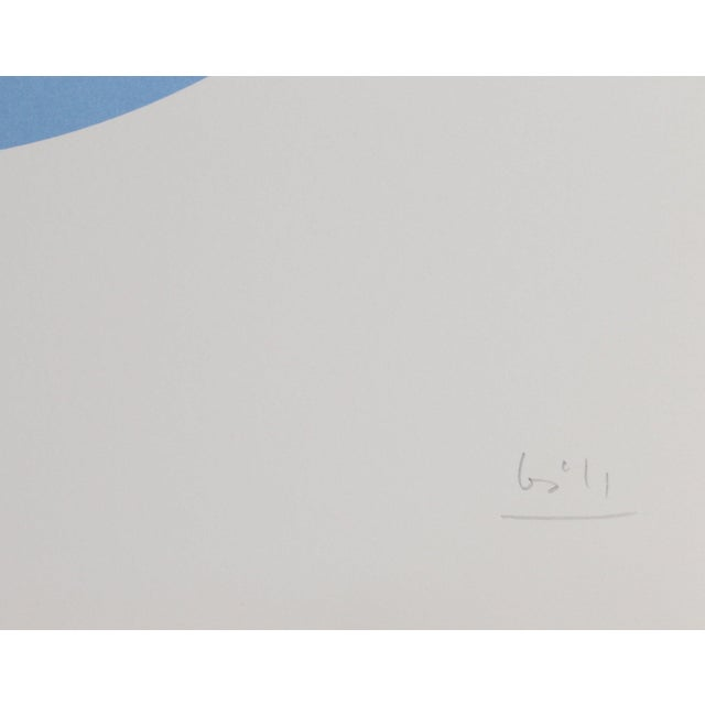 """1970s Max Bill, """"Constellations X"""", Geometric Lithograph For Sale - Image 5 of 5"""