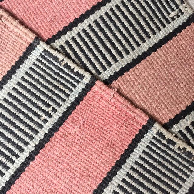 Vintage Woven Striped Runner Rug - 2′4″ × 8′2″ - Image 10 of 10