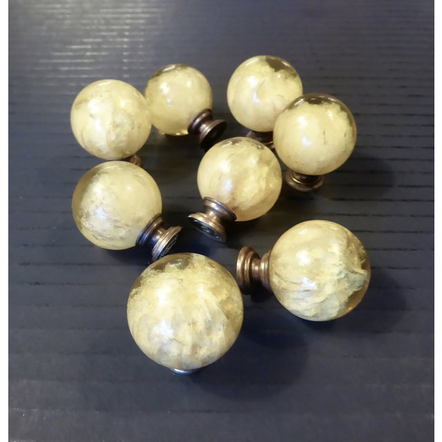 1960s Vintage Mid Century Modern Ruth Richmond Lucite Drawer Knobs / Door Pulls - Set of 8 For Sale - Image 13 of 13