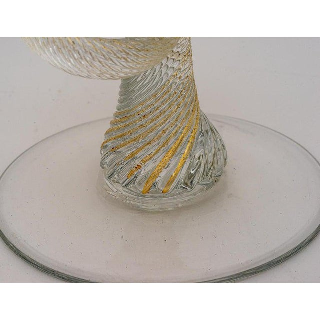 Vintage Yellow Murano Candle Holders - a Pair For Sale - Image 10 of 13