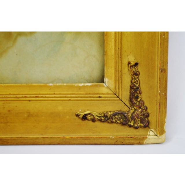 Early Gesso Framed Print of Three Babies - Image 7 of 8