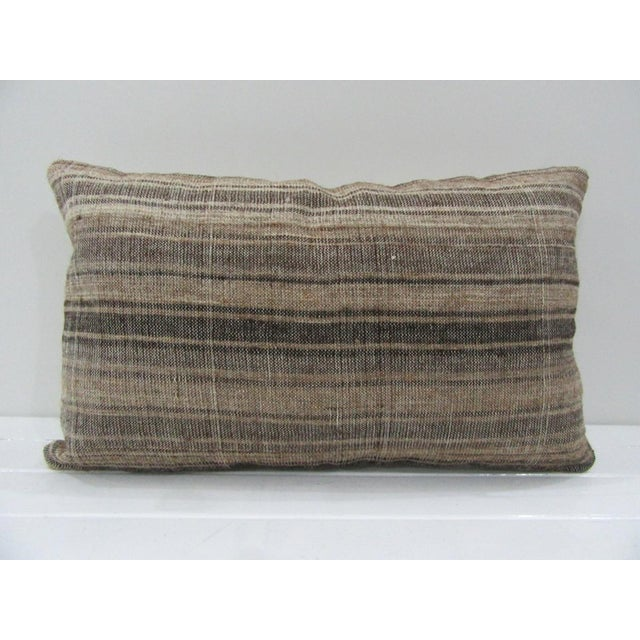 Vintage Handmade Turkish Kilim Pillow Cover For Sale - Image 4 of 4