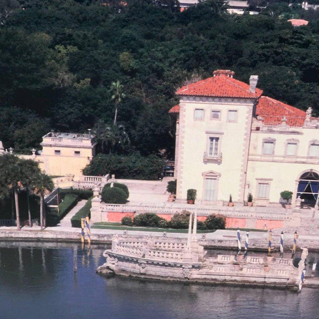 Modern Monumental Photographic Print of Villa Vizcaya, Deaccessioned From Vizcaya For Sale - Image 3 of 13