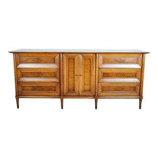 1960s Mid-Century Modern Walnut Dresser For Sale