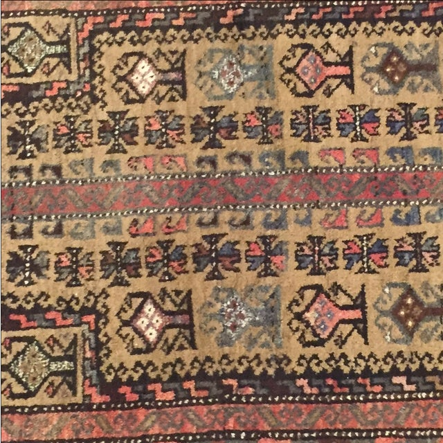 Traditional Baluchi Persian Rug - 2'6 x 3'6'' - Image 5 of 7