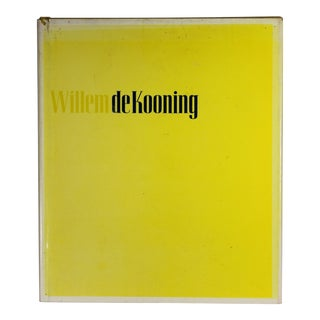 Willem De Kooning, First Edition For Sale