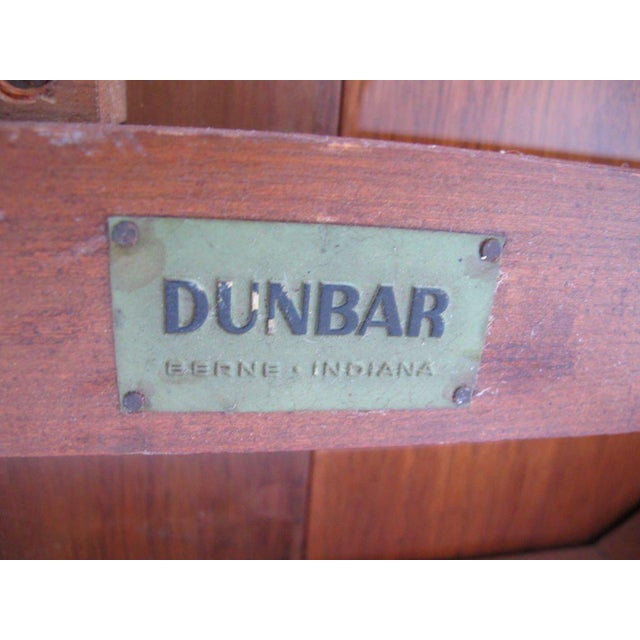 1950s 1950s Mid-Century Modern Edward Wormley for Dunbar Walnut Console For Sale - Image 5 of 10