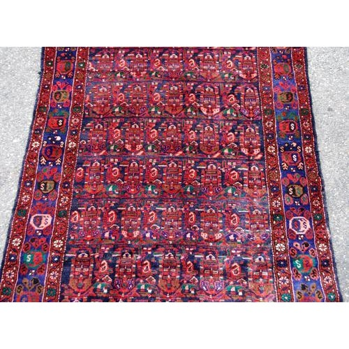 Semi-Antique Hosseinabad Rug - 4′ × 8′6″ - Image 2 of 4