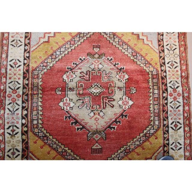 Vintage Turkish Woven Rug - 3'2'' x 4'7'' - Image 6 of 7