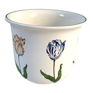 Vintage Tiffany & Co Tulips Cachepot For Sale