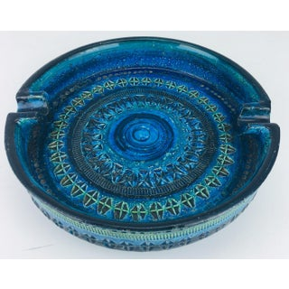 1960 Incised Pottery Raymor Bitossi Cigar Ashtray From Italy Preview