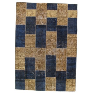 "Pasargad Ny Persian Patchwork Rug - 6'9"" X 9′9"" For Sale"