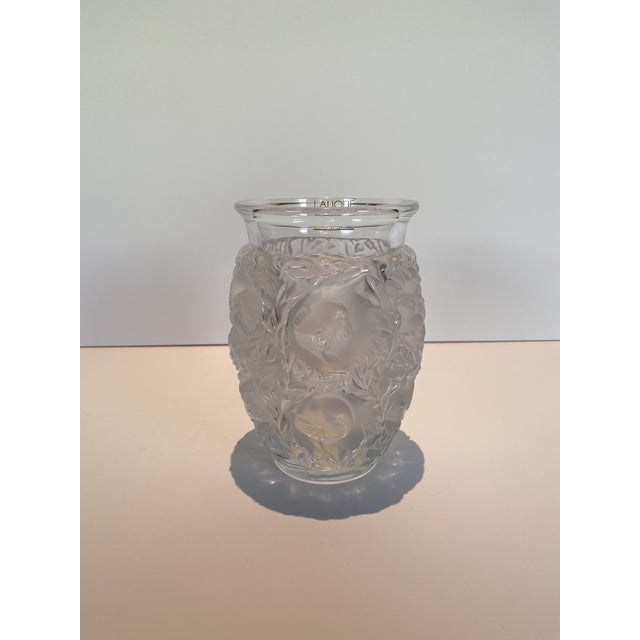 Lalique Bagatelle Vase Clear Crystal For Sale In Los Angeles - Image 6 of 6