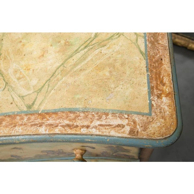 Wood 19th Century Venetian Laca Povera Commode For Sale - Image 7 of 9