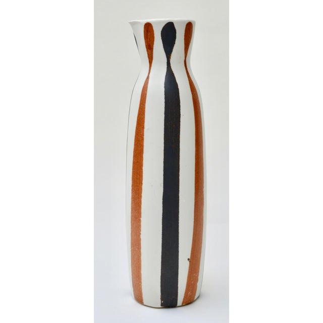 1950s Frank Mann Studio Pottery Pitcher For Sale In Los Angeles - Image 6 of 6