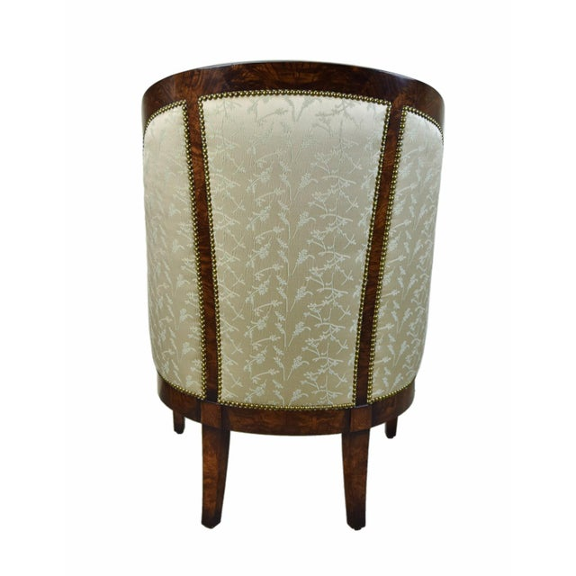 Biedermeier William Switzer Classic Occasional Chair For Sale - Image 4 of 8