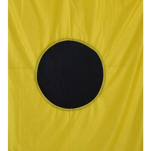 "Vintage maritime nautical naval signal ""I India"" code flag. This flag is the international maritime code/meaning for ""I'am..."
