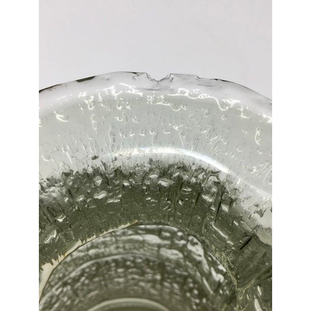 Mid Century Scandinavian Timo Sarpaneva Glass Vase For Sale - Image 10 of 12