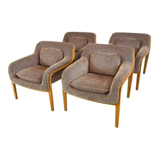 1970s Bill Stephens for Knoll Lounge Chairs - Set of 4 For Sale