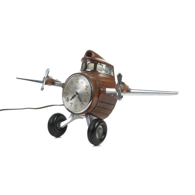 MasterCrafters Sessions Airplane Electric Clock - Image 10 of 10