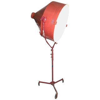 1950s Model Hollywood Movie Studio Light With Stand For Sale
