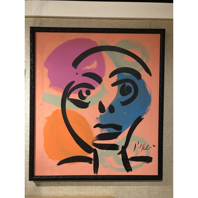 Peter Keil Abstract Facial Painting For Sale In Nashville - Image 6 of 6