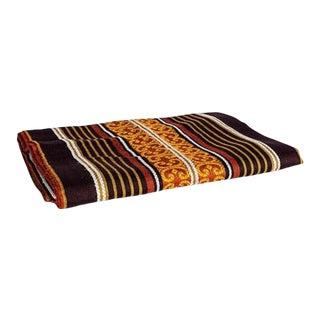 Vintage Oversized Moroccan Blanket For Sale