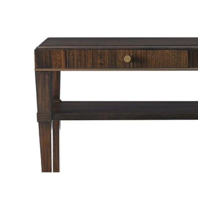 Traditional Capetown Console Table from Kenneth Ludwig Chicago For Sale - Image 3 of 5