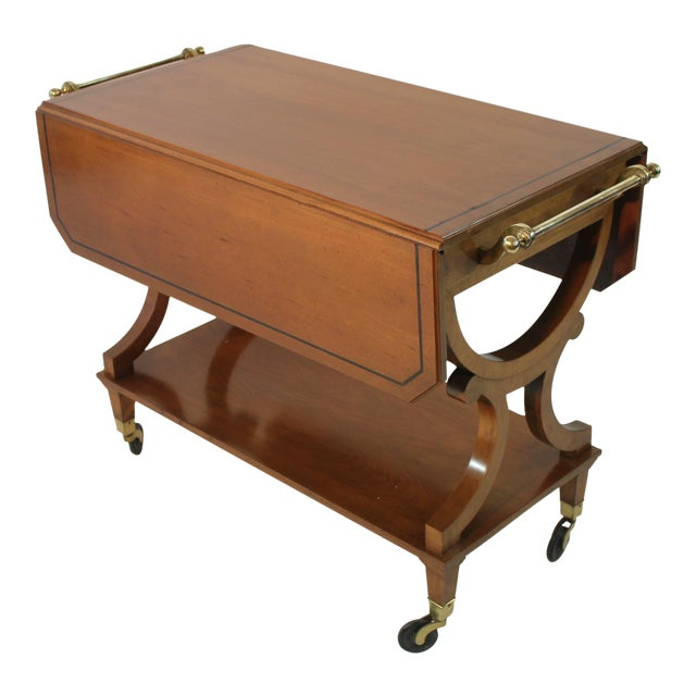 Kaplan Furniture Beacon Hill Serving Cart For Sale