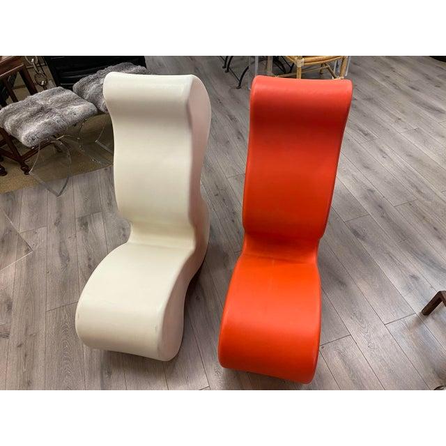 1980s Pair of Verner Panton Phantom Chairs For Sale - Image 5 of 10