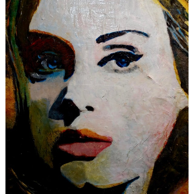 Contemporary Sonia Gold - Portrait of Adele - Beautiful Oil Painting For Sale - Image 3 of 10