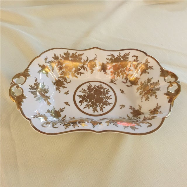 Hand painted, made in France circa the early 1900s.