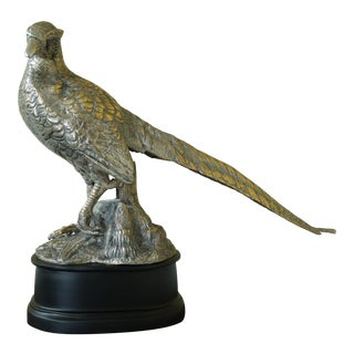 Large Brass Finish Sculpture or Statue For Sale