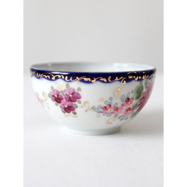 Antique Tea Cup With Gilt For Sale - Image 4 of 10